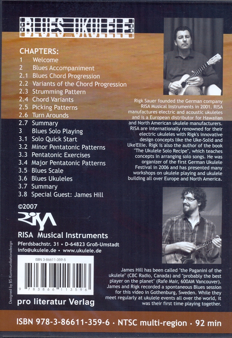 HAL LEONARD UKULELE METHOD DVD