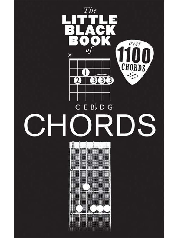 THE LITTLE BLACK BOOK OF GUITAR CHORDS