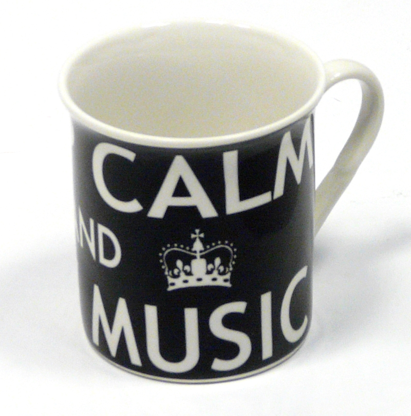 KEEP CALM AND PLAY MUSIC - HRNEK