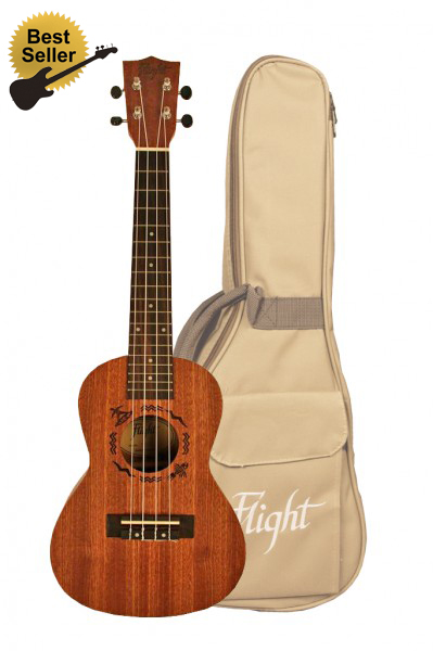 FLIGHT NUC 310  KONCERTNÍ UKULELE KIT
