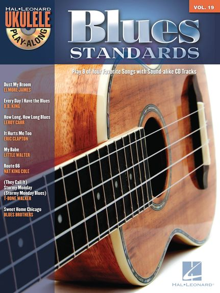 UKULELE PLAY ALONG BLUES  STANDARDS