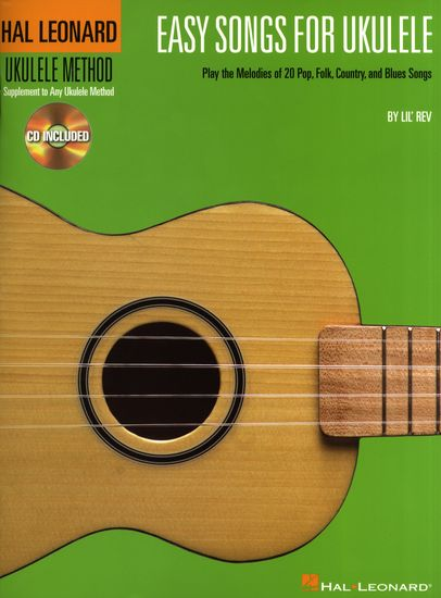 HAL LEONARD EASY SONGS FOR THE UKULELE