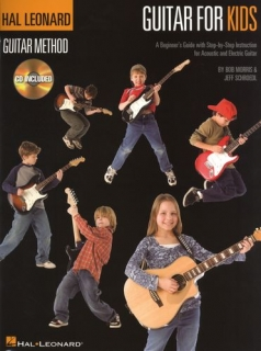 HAL LEONARD GUITAR METHOD- GUITAR FOR KIDS