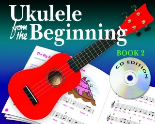 UKULELE FROM THE BEGINNING BOOK 2 CD AJ