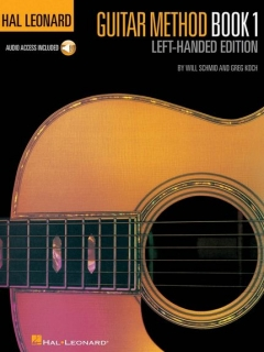 HAL LEONARD - GUITAR METHOD BOOK 1 - LEFT HANDED