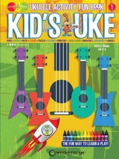 KID´s UKE - UKULELE ACTIVITY FUN BOOK