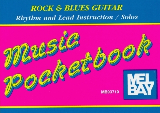 GUITAR MUSIC POCKETBOOK - ROCK & BLUES