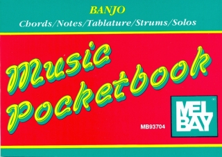 MUSIC POCKETBOOK - BANJO