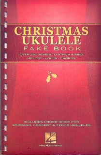 CHRISTMAS UKULELE FAKE BOOK