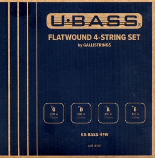 KA STR UB METAL 4 FW FLATWOUND UBASS STRUNY