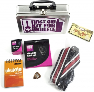 FIRST AID KIT FOR UKULELE