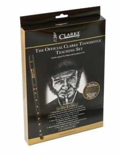 "CLARKE´S ORIGINAL ""D"" TUNING TINWHISTLE TUTOR PACK"