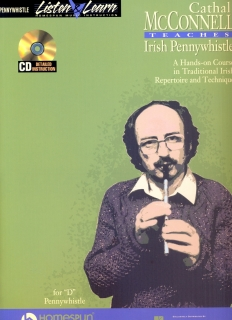 CATHAL McCONNELL TEACHES IRISH PENNYWHISTLE