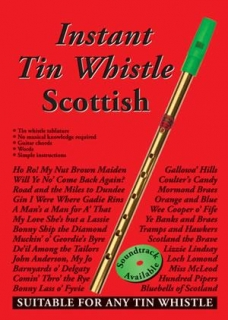 INSTANT SCOTTISH TIN WHISTLE