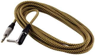 ROCKCABLE RCL 30256 TC D/GOLD - 6m Nástrojový kabel - tweed