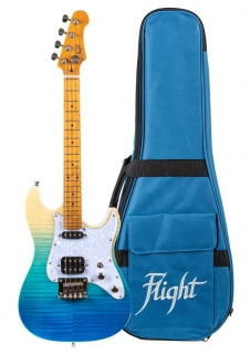 FLIGHT PATHFINDER ELEKTRO FENDER STYL UKULELE