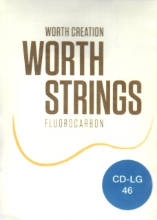 WORTH CLEAR CD-LG TVRDÉ STRUNY  - LOW G