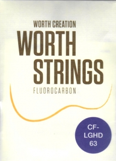 WORTH CLEAR CF-LGHD TVRDÉ STRUNY -LOW G