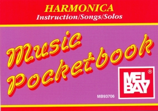 MUSIC POCKETBOOK - HARMONICA