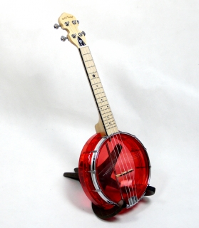 GOLD TONE LITTLE GEM LG-R BANJOLELE - RUBY