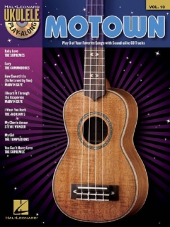 PLAY ALONG UKULELE MOTOWN (AJ) CD